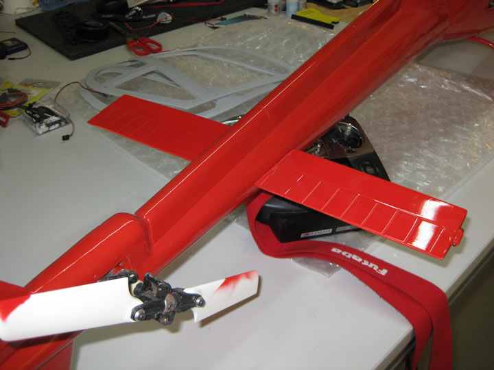 AS 355 Scale Twin Squirrel Heli