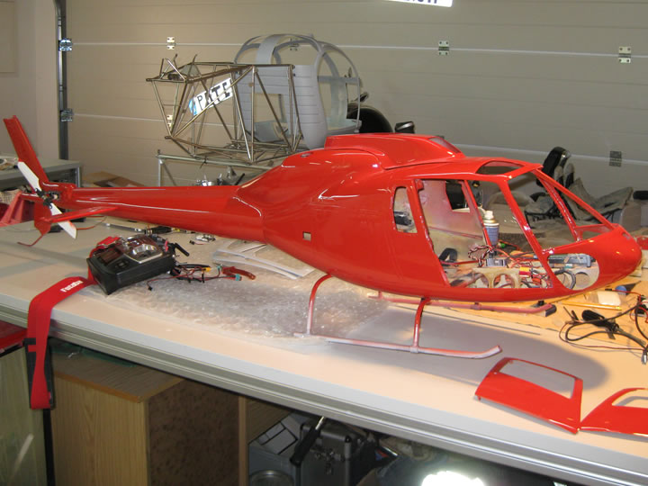AS355 Scale Heli rot