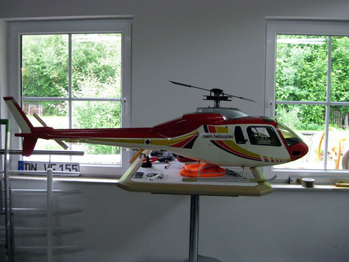 Heim Helicopter Graupner AS355 Twin Suirrel