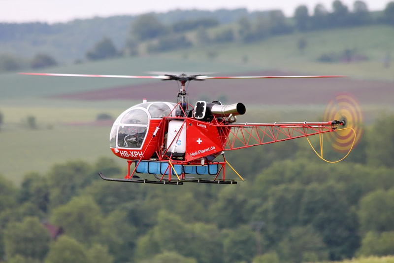 Lama Big Scale Turbinen Helikopter