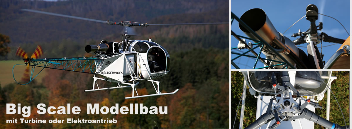Big Scale Helikopter Turbinen Modellbau